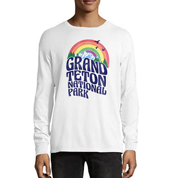 dda0529b5 Young Mens Long Sleeve Graphic T-shirts for Men - JCPenney