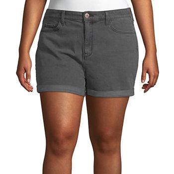 c32810e37d6 Juniors Plus Size Shorts for Juniors - JCPenney