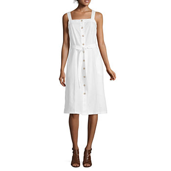 Women\'s Little White Dress, White Graduation Dresses - JCPenney