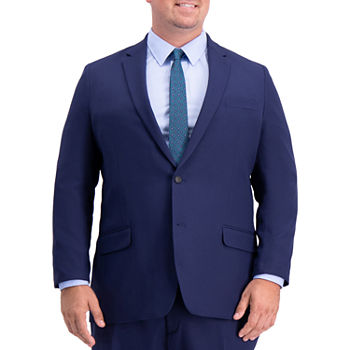 Haggar Active Series Herringbone Big and Tall Suit Separates