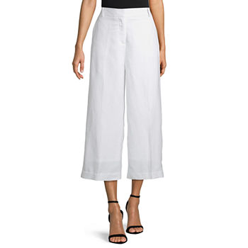 Worthington High Rise Cropped Pants
