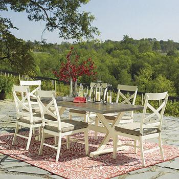 Signature Design by Ashley® Preston Bay 7-Piece Patio Dining Set