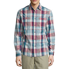 Lee Long Sleeve Button-Front Shirt