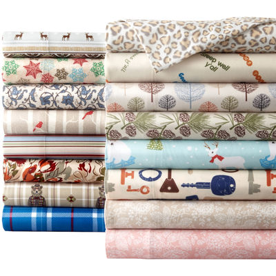 micro flannel solid sheet set - Flannel Sheets Queen