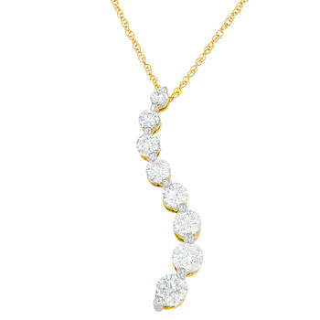 14k gold fine necklaces pendants for jewelry watches jcpenney average rating metal karat14k gold aloadofball Images