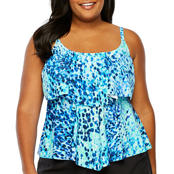 be284472b05a9 Plus Size Swimsuits   Cover-ups for Women - JCPenney