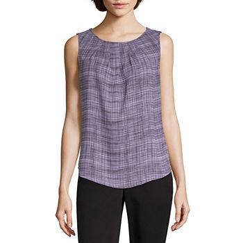 7ddf8e8629f6 Worthington Purple Tops for Women - JCPenney