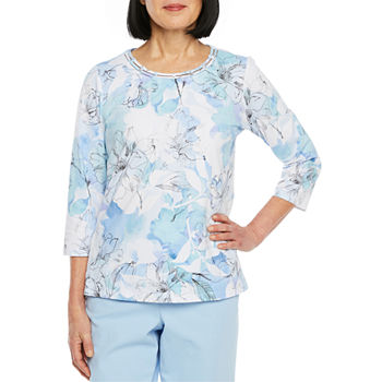 4cdb309b4 Alfred Dunner Blue Tops for Women - JCPenney