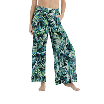 Mynah Leaf Pants Swimsuit Cover-Up