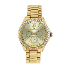 Worthington® Ladies Gold Tone Bracelet Watches