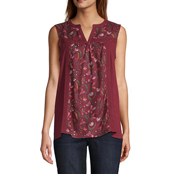 4377d92d1d4 Women's T-Shirts | V-Neck Shirts for Women | JCPenney