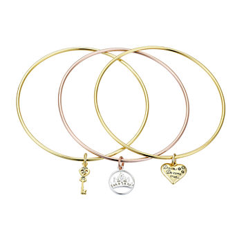 Disney Classics 8 Inch Solid Disney Princess Bangle Bracelet