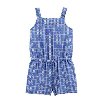 Carter's Toddler Girls Sleeveless Romper