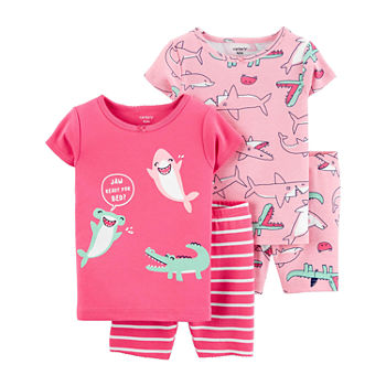 Carter's Toddler Girls 4-pc. Pajama Set