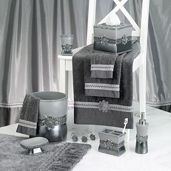 Medallion Shower Curtain Hooks
