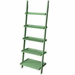 Delaney 5-Shelf Ladder Bookshelf