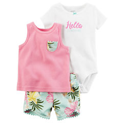 Carter's Short Set Baby Girls