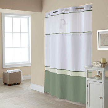 Shower curtains shower curtains for bed bath jcpenney for Bathroom decor home goods
