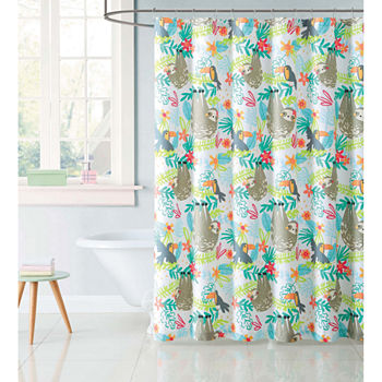 Novelty Microfiber Shower Curtains For Bed Bath