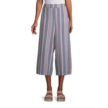 a.n.a-Tall Womens High Rise Cropped Pants