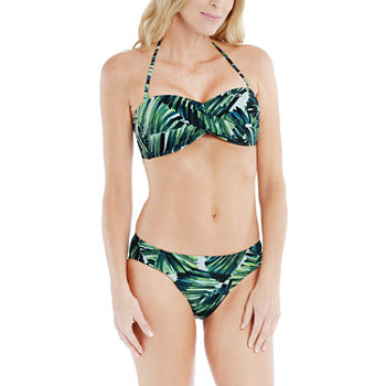 Mynah Tropic Goddess Twist Bandeau and Hipster Bottom