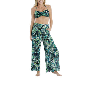 Mynah Molded Cup Twist Bandeau and Beach Pant
