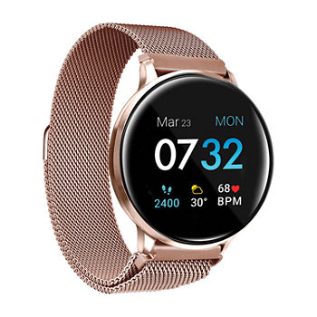 Itouch Sport 2 Unisex Adult Rose Goldtone Stainless Steel Smart Watch-500014r-51-C29