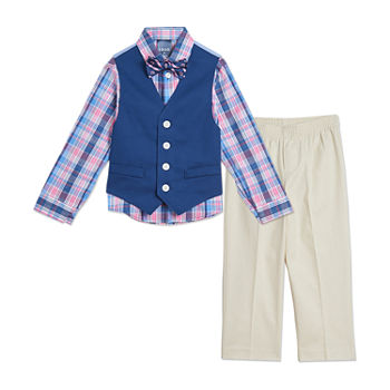 IZOD Toddler Boys 4-pc. Suit Set