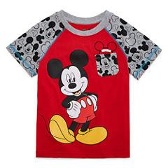 Disney By Okie Dokie Mickey Mouse Graphic T-Shirt-Preschool Boys