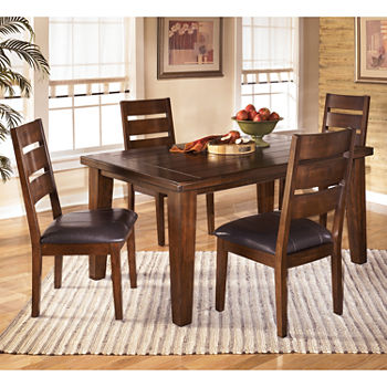 Signature Design By AshleyR Larchmont Rectangular 5 PC Dining Set