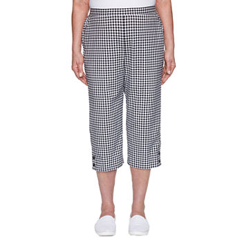 Alfred Dunner Checkmate Capris