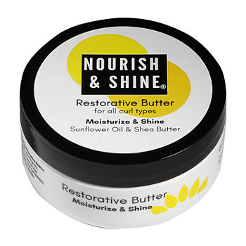 Nourish And Shine Restorative Butter Hair Pomade-4 oz.