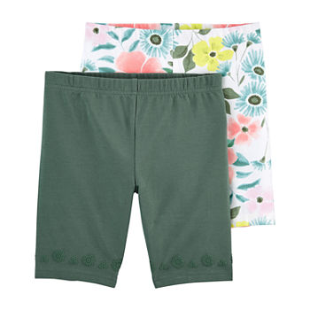 Carter's Pull-On Little & Big Girls 2-pc. Bike Short