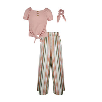 Knit Works Big Girls 2-pc. Pant Set