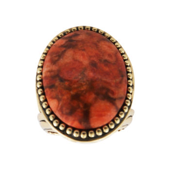 Artsmith by Barse Art Smith by BARSE Sponge Coral Statement Ring