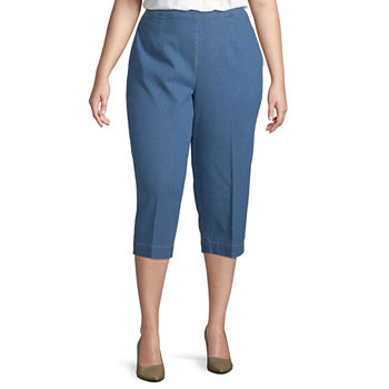 8376b045e8234 Plus Size Capris   Crops for Women - JCPenney