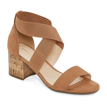 Liz Claiborne Womens Eaves Heeled Sandals
