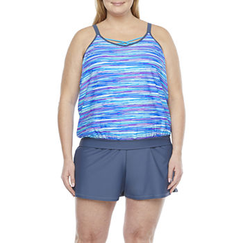 Free Country Tankini and Short Plus