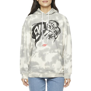 Mighty Fine-Juniors Womens Long Sleeve 101 Dalmatians Fleece Hoodie