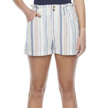 Rewind Womens High Rise Soft Short-Juniors