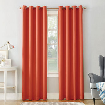 95 Inch Orange Curtains & Drapes for Window - JCPenney