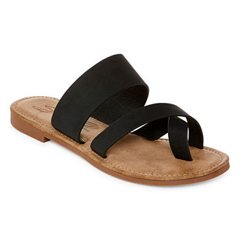 Seven 7 Womens Maldives Flat Sandals