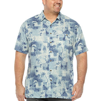 673aec28660 Hawaiian tropical Button-front Shirts Shirts for Men - JCPenney