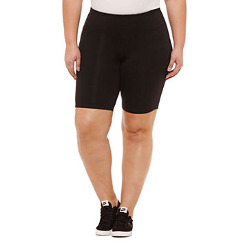 "Xersion Essential 9"" Studio Bike Short - Plus"