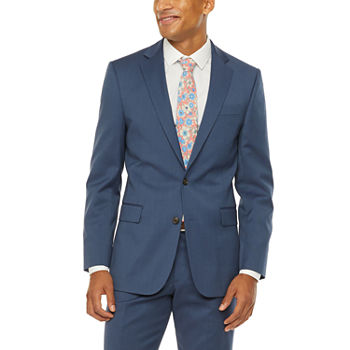 Stafford Super Blue Birdseye Slim Fit Suit Separates