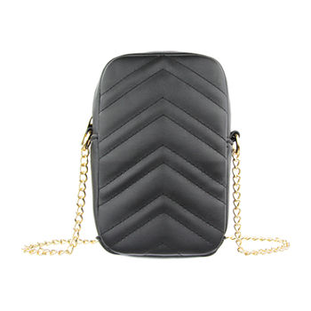 Olivia Miller Quilted Phone Crossbody Bag