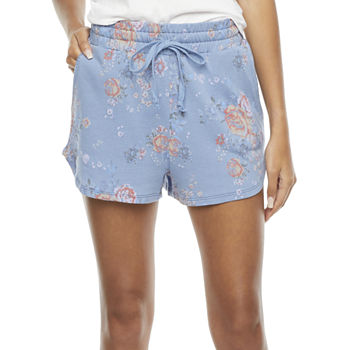 Bloom + Blare Womens Mid Rise Shortie Short-Juniors