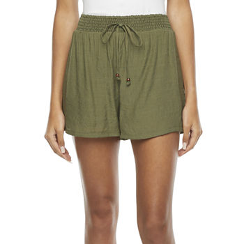 by&by Womens Pull-On Short-Juniors