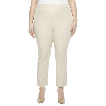 Worthington-Plus Regular Fit Straight Trouser