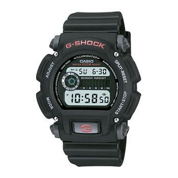 Casio G-Shock Mens Digital Black Strap Watch-Dw9052-1v